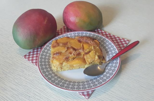 Clafoutis à la mangue facile - Photo par Dany33