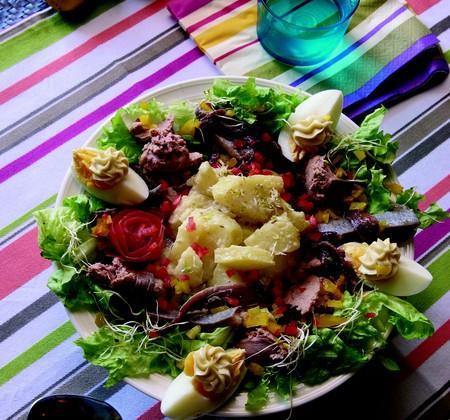 Salade pique- nique de Princesse Amandine - Photo par Confrérie des Toqués de la Pomme de Terre