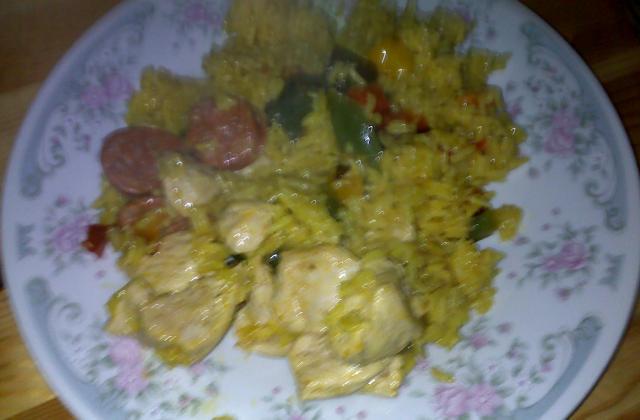 Poulet au curry inratable - Photo par bidules2