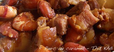 Porc au caramel - Photo par elo