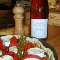 Tarte aux tomates fraîches et fromage de chèvre - Photo par 750g