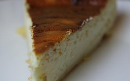 Tarte au fromage blanc et à la confiture de mirabelle - Photo par titias