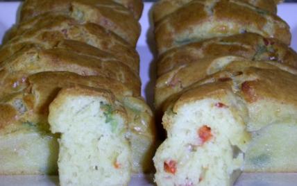 Mini cake aux deux poivrons - Photo par atlantis013