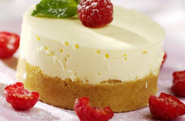 Cheese cake classique - Photo par VRAI