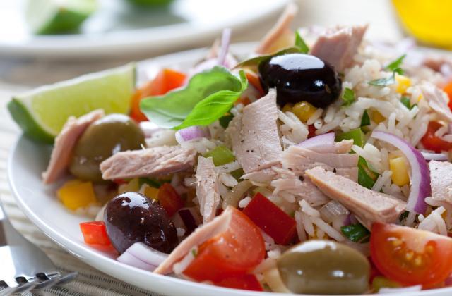 Salade de riz au thon classique - Photo par 309nin