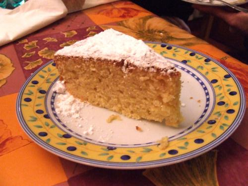 Gâteau fondant au amandes - Photo par lafermY