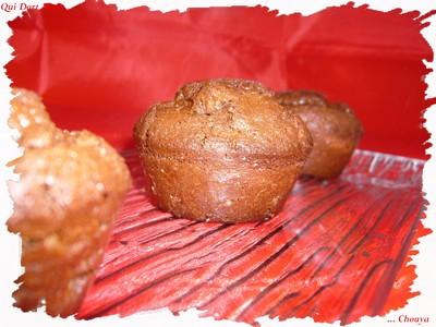 Moelleux au chocolat, cœur de spéculoos - Photo par chouya