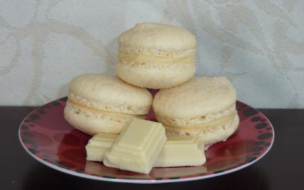 Macarons au chocolat blanc - Photo par claudiachocolat