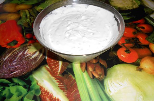 Sauce fromage blanc ciboulette - Photo par paty66