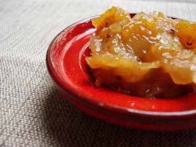 Chutney épicé courge musquée mangue - Photo par lecookiemasque