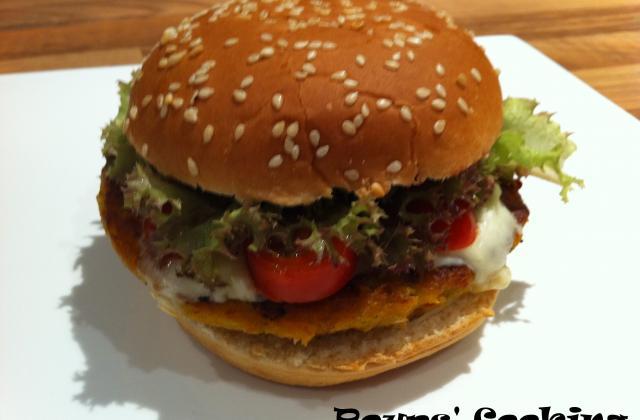 Hamburgers au poulet - Photo par poups83