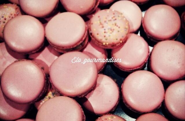 Macarons à la Fraise Gariguette Label Rouge - Photo par Latoquedu33