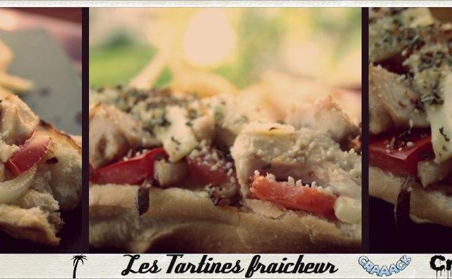 Tartine fraîcheur - Photo par kroline