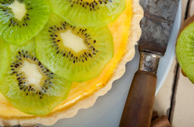 Tarte aux kiwis facile - Photo par 750g