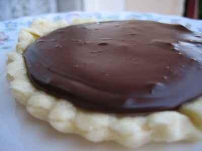 Tartelettes chocolat et caramel salé - Photo par christgOm