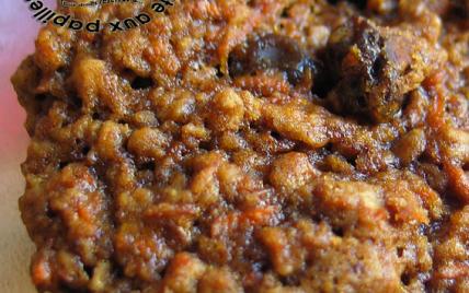 Biscuits très tendres aux carottes, raisins et écorces d'orange - Photo par TitAnick