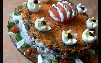Gâteau salade - Photo par yasana
