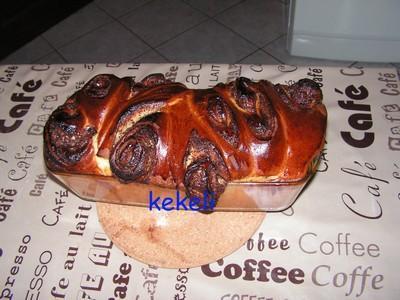 Brioche au nutella - Photo par kekeli