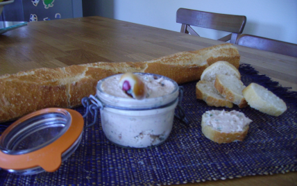 Rillettes aux 2 jambons - Photo par estellsz