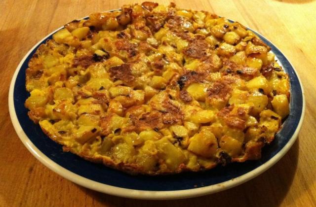 Recette de la tortilla espagnole - Photo par lescome