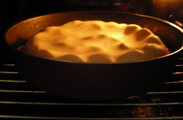 Tarte tatin aux prunes - Photo par virginMFH