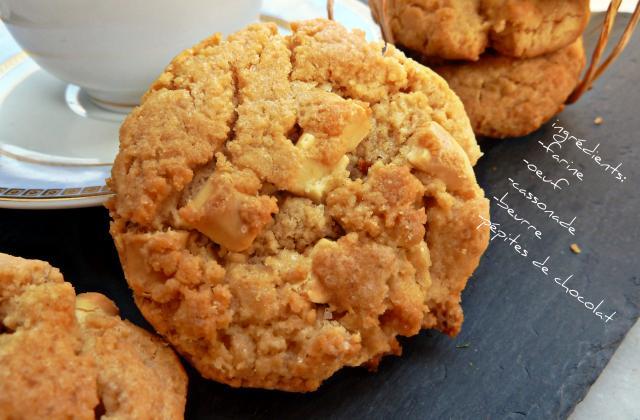 Cookies au beurre de cacahuètes classiques - Photo par ratou