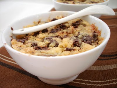 Crumble de poires au chocolat facile - Photo par fimere2