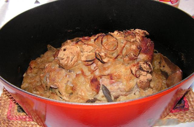 Rôti de porc aux oignons - Photo par kekeli