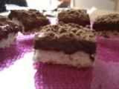 Pavés meringués coco-chocolat - Photo par Sophie21