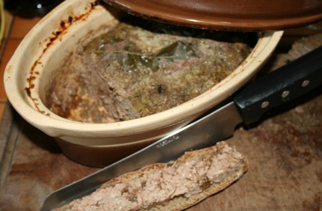 Pâté aux 2 foies - Photo par amafacon