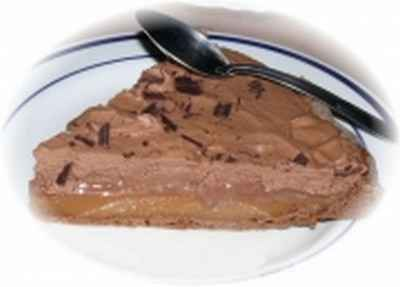 Tarte Chocolat-Caramel - Photo par delf745