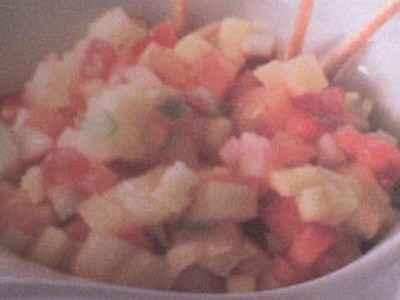 Minestrone de fruits frais - Photo par houdetg