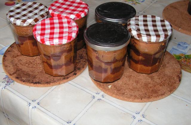 Cake en bocal - Photo par kekeli