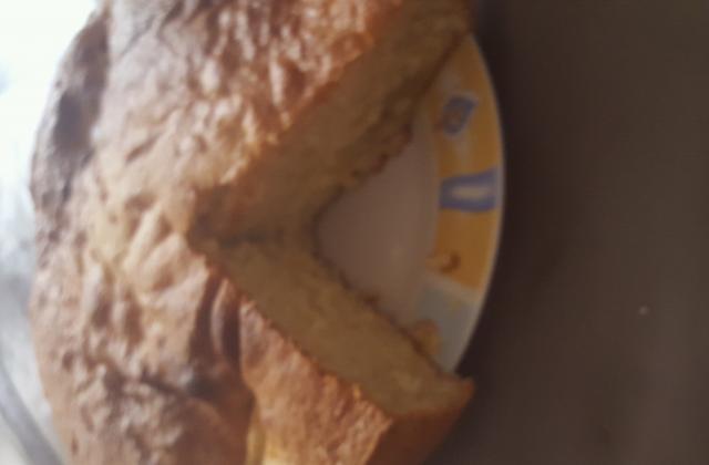 Gâteau yaourt aux pommes - Photo par corinnadM