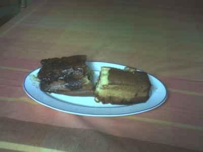 Cake aux poires caramel - Photo par cloeee