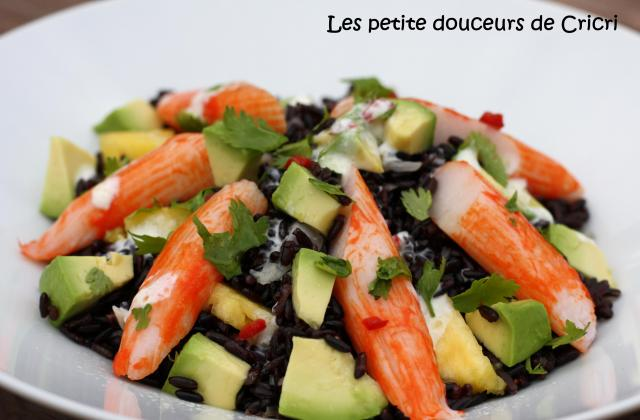 Salade chic au surimi - Photo par Coraya
