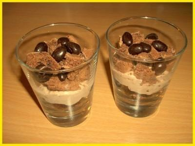 Verrines gourmandes aux cookies et crème de marrons - Photo par Titeratatouille