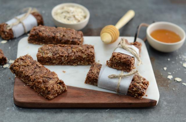 Barres de quinoa au chocolat - Photo par Nadia Paprikas