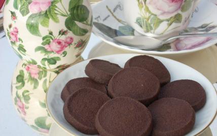 Biscuits tout choco - Photo par La soupe à la citrouille