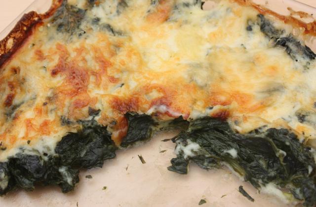 Gratin de feuilles de blettes au Camembert Le Rustique - Photo par 750g