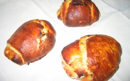 Petits pains briochés au chocolat - Photo par jfheun