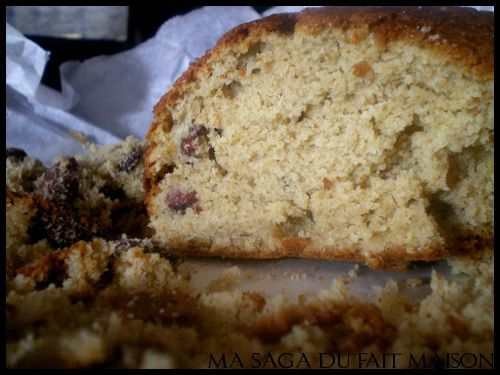 Cake aux amandes facile - Photo par SagaM