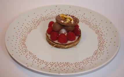 Tartelette sexy girly chocolatée - Photo par Sandrine Baumann