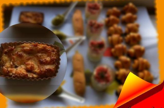 Mini cakes oignons lardons - Photo par Fantasy-Cook