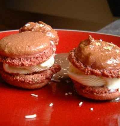 Macarons liégeois glacé - Photo par tottot