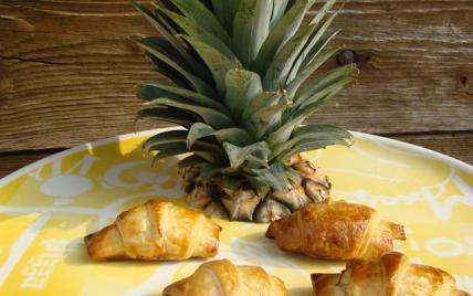 Croissants choco coco ananas - Photo par cookinZ