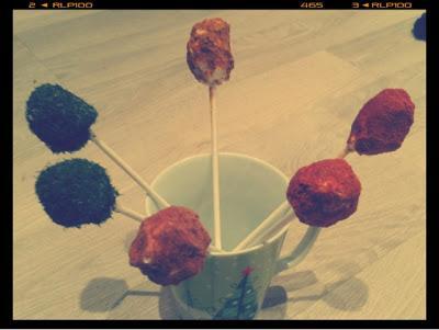 Sucettes raisin et st moret - Photo par UN AVOCAT EN CUISINE BLOG