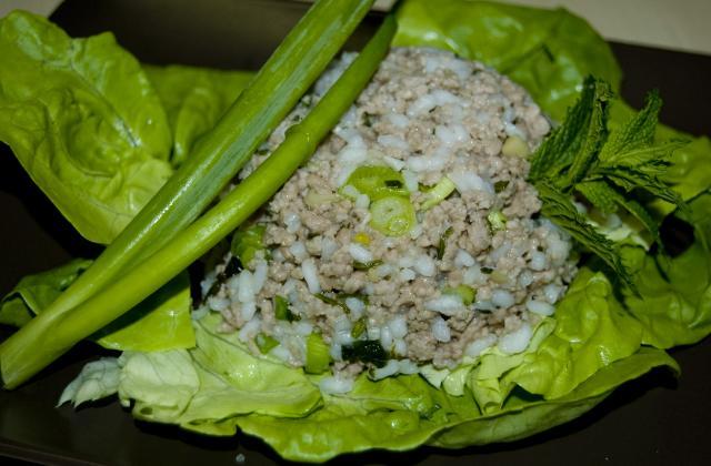 Salade de boeuf à la thai - Photo par malikele