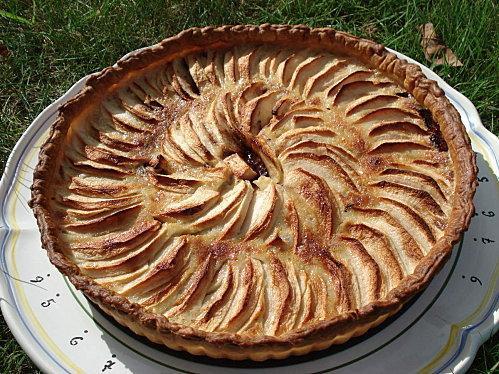 Tarte aux pommes et au chocolat - Photo par morcarM