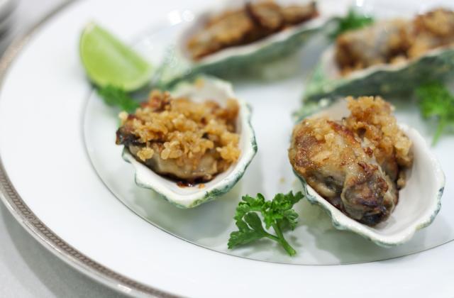 5 recettes pour ne plus jamais manquer d'idées avec les huîtres chaudes - Photo par Chef Christophe